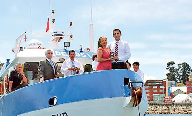 En la Lancha Civil Sur se han casado muchos chilenos