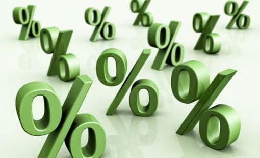 Las tasas de interés son porcentajes que pagas por el uso del dinero prestado