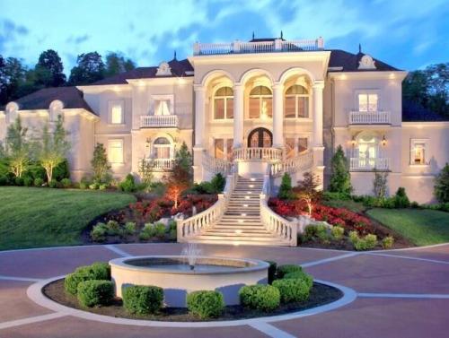 M s de 20 fotos de casas de lujo el blog de opcionis en for Mansiones lujosas modernas