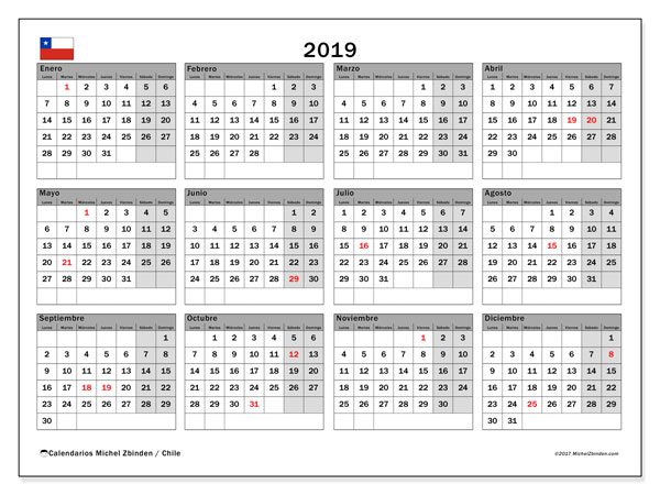calendario-2019-chile